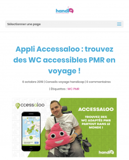 Blogpost about accessaloo by our ambassadors from Handilol